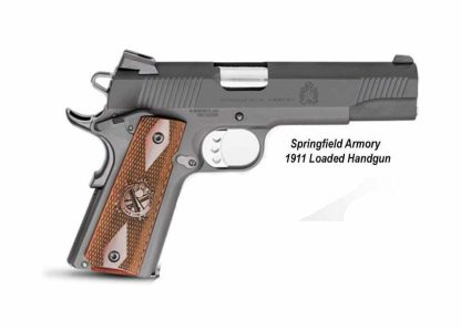 Springfield Armory 1911 Loaded Handgun, PX9109L, in Stock, For Sale