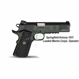Springfield Armory 1911 Loaded Marine Corps. Operator, PX9105ML18, PX9110ML18, in Stock, For Sale