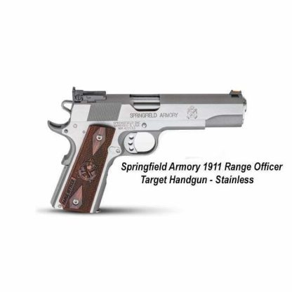 Springfield Armory 1911 Range Officer Target Handgun, Stainless, PI9124L, PI9122L, in Stock, For Sale