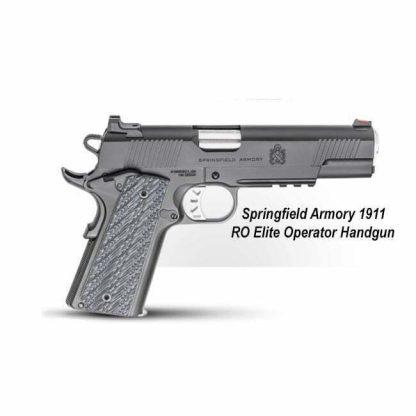 Springfield Armory 1911 RO Elite Operator Handgun, PI9110E, in Stock, For Sale