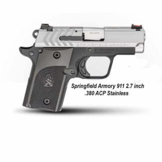 Springfield Armory 911 2.7 inch .380 ACP Stainless, PG9109S, in Stock, For Sale