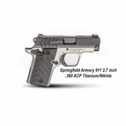 Springfield Armory 911 2.7 inch .380 ACP Titanium/Nitride, PG9109TN, in Stock, For Sale