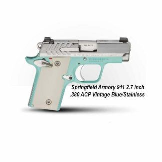 Springfield Armory 911 2.7 inch .380 ACP Vintage Blue/Stainless, PG9109VBS, in Stock, For Sale
