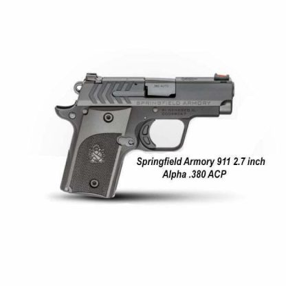 Springfield Armory 911 2.7 inch Alpha .380 ACP, PG9108, in Stock, For Sale