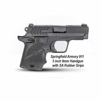 Springfield Armory 911 3 inch 9mm Handgun with SA Rubber Grips, PG9119H, in Stock, For Sale