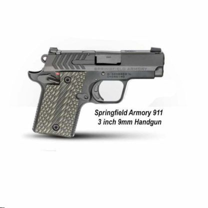 Springfield Armory 911 3 inch 9mm Handgun, PG9119, PG9119S, in Stock, For Sale