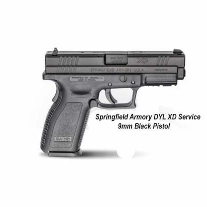 Springfield Armory DYL XD Service 9mm Black Pistol, in Stock, For Sale