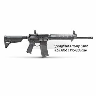 Springfield Armory Saint 5.56 AR-15 Pic-GB Rifle, ST916556BM, ST916556BMLC, in Stock, For Sale