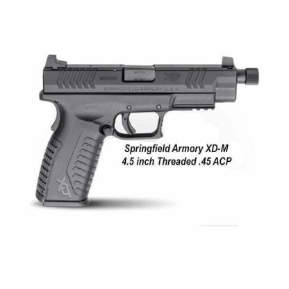 Springfield Armory XD-M 4.5 inch Threaded .45 ACP, XDMT94545BHCE, in Stock, For Sale