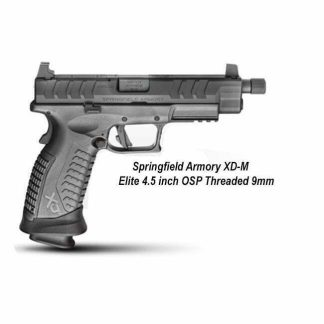 Springfield Armory XD-M Elite 4.5 inch OSP Threaded 9mm, DMET9459BHCOSP, XDMET9459FHCOSP, in Stock, For Sale