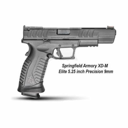 Springfield Armory XD-M Elite 5.25 inch Precision 9mm, XDME95259BHC, in Stock, For Sale