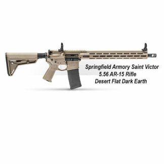 Springfield Armory Saint Victor 5.56 AR-15 Rifle - Desert Flat Dark Earth, STV916556F, STV916556FLC, in Stock, For Sale