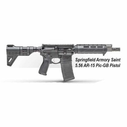 Springfield Armory Saint 5.56 AR-15 Pic-GB Pistol, ST9096556BM, ST9096556BMLC, in Stock, For Sale