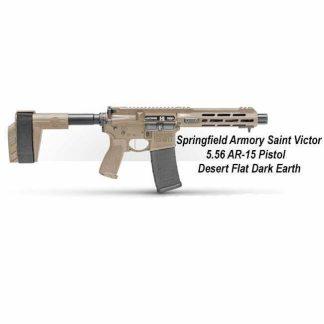 Springfield Armory Saint Victor 5.56 AR-15 Pistol - Desert Flat Dark Earth, STV975556F, STV975556FLC, in Stock, For Sale