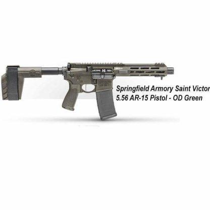 Springfield Armory Saint Victor 5.56 AR-15 Pistol - OD Green, STV975556G, STV975556GLC, in Stock, For Sale
