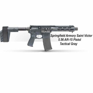 Springfield Armory Saint Victor 5.56 AR-15 Pistol - Tactical Gray, STV975556Y, STV975556YLC, in Stock, For Sale