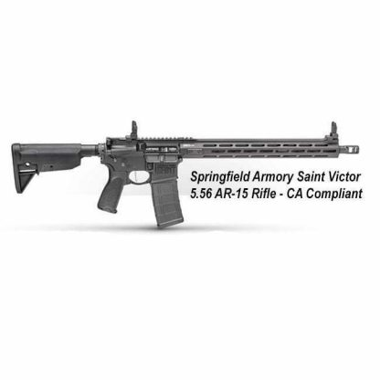 Springfield Armory Saint Victor 5.56 AR-15 Rifle - CA Compliant, STV916556BCA, in Stock, For Sale