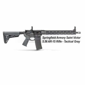 Springfield Armory Saint Victor 5.56 AR-15 Rifle - Tactical Gray, STV916556Y, STV916556YLC,