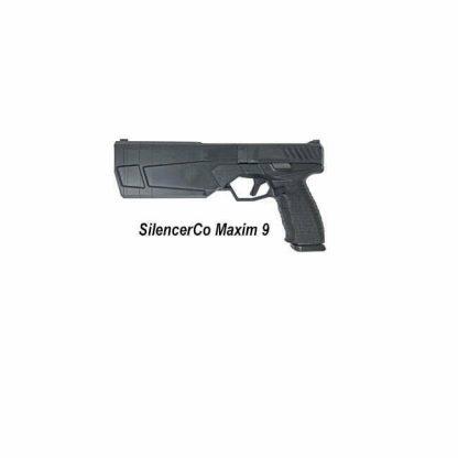 SilencerCo Maxim 9, MAXIM 9, 816413022375, in Stock, For Sale