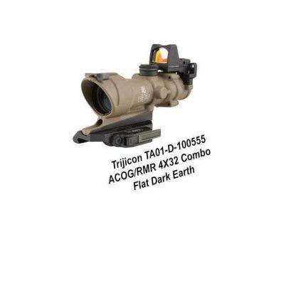 Trijicon ACOG/RMR 4X32 Combo, FDE, TA01-D-100555, 719307311831, in Stock, For Sale