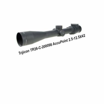 Trijicon AccuPoint 2.5-12.5X42, TR26-C-200098, Search Results Web results TR26-C-200098 - Trijicon AccuPoint 2.5-12.5x42 APT ...gun.deals › search › apachesolr_search › tr26-c-200098 Trijicon AccuPoint 2.5-12.5x42 APT Riflescope,Standard Crosshair Green 200098 719307401747, in Stock, For Sale