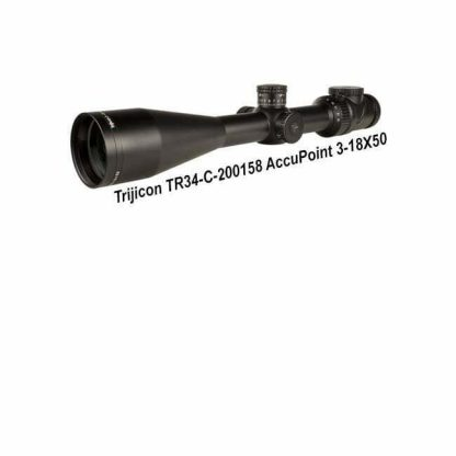 Trijicon AccuPoint 3-18X50, TR34-C-200158, 719307403598, in Stock, For Sale