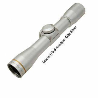 Leupold FX-II Handgun 4X28 Scope, Silver, 58760, 030317587604, in Stock, For Sale