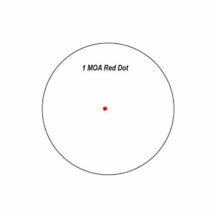 1 MOA Red Dot