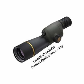 Leupold GR 15-30X50 Compact Spotting Scope, Gray, 120375,0303170106723, in Stock, For Sale