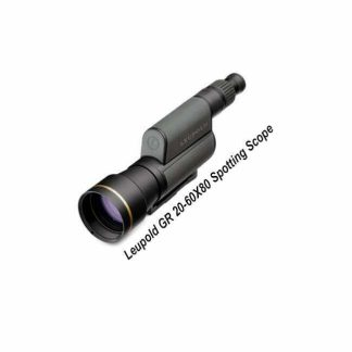 Leupold GR 20-60X80 Spotting Scope, 120376,0120377, 0030317006785, 030317006754