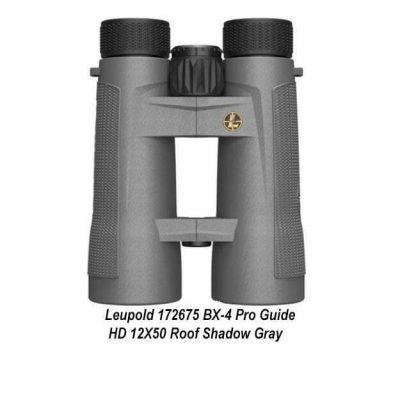 Leupold BX-4 Pro Guide HD 12X50 Binocular, Gray, 172675, 030317015343, in Stock, For Sale