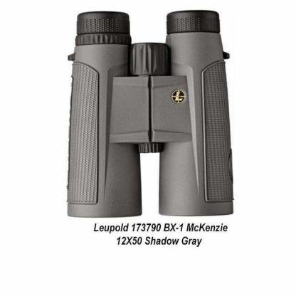 Leupold BX-1 McKenzie 12X50 Binocular, Shadow Gray, 173790, 030317017514