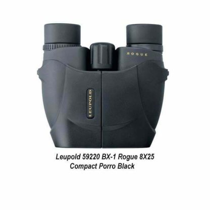 Leupold BX-1 Rogue 8X25 Compact Binocular, Black, 59220, 030317592202, in Stock, For Sale
