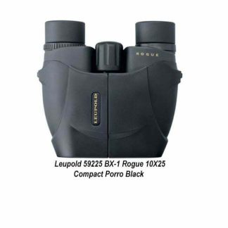 Leupold BX-1 Rogue 10X25 Compact Binocular, Black, 59225, 030317592257, in Stock, For Sale