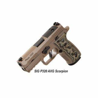 SIG Sauer P320 AXG Scorpion, 17rd or 10 rd, 320axgca-9-cw-scpn-r2, 320axgca-9-cw-scpn-r2-10, 798681641291, 798681646197, in Stock, For Sale