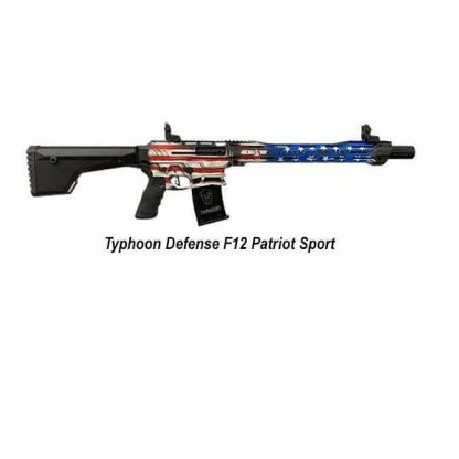 Typhoon Defense F12 Patriot Sport Shotgun, F121101S, 713012050405 in Stock, For Sale