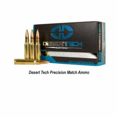 Desert Tech Precision Match Ammo, in Stock, For Sale