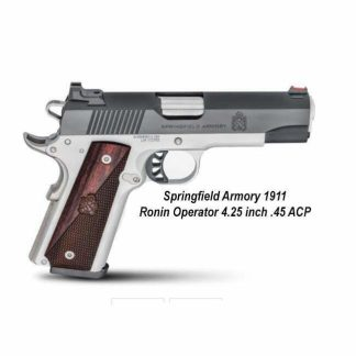 Springfield Armory 1911 Ronin Operator 4.25 inch .45 ACP Handgun, PX9118L, PX9117L, 706397929626, 706397929633, in Stock, For Sale