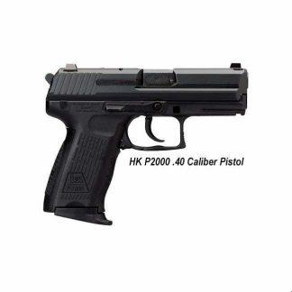 HK P2000 .40 Caliber Pistol, in Stock, For Sale