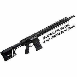 FALKOR ALPHA 308 DMR 18 inch DRACOS Barrel, Black, R65CRDMR-BLK, in Stock, For Sale