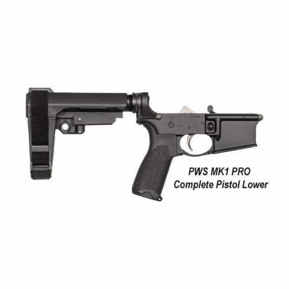PWS MK1 PRO Complete Pistol Lower, 18-M100PM1B, 811154030467, in Stock, For Sale