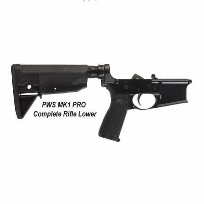 PWS MK1 PRO Complete Rifle Lower, 18-M100RM1B, 811154030450, in Stock, For Sale
