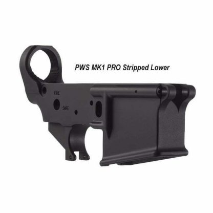 PWS MK1 PRO Stripped Lower, 18-M100SM1B, 811154030443, in Stock, For Sale