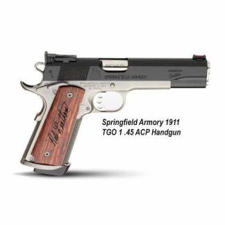 Springfield Armory 1911 TGO 1 .45 ACP Handgun, California Compliant, PC9206, 706397092061, in Stock, For Sale