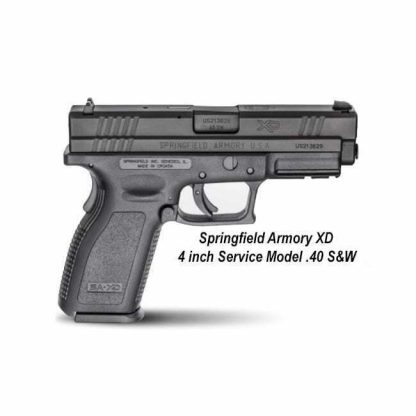 Springfield Armory XD 4 inch Service Model .40 S&W, XD9102, 706397161026, in Stock, For Sale