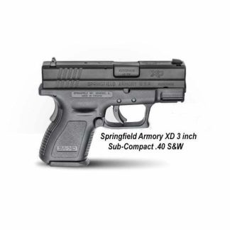 Springfield Armory XD 3 inch Sub-Compact .40 S&W, XD9802, 706397168025, in Stock, For Sale