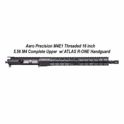 Aero Precision M4E1 16 inch Threaded Complete Upper, Black, APPG700604P6, in Stock, For Sale
