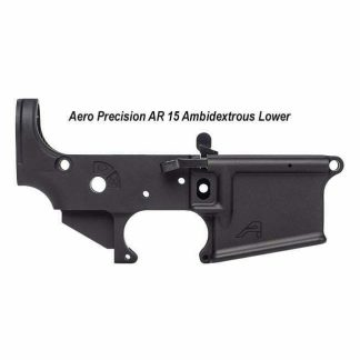 Aero Precision AR 15 Ambidextrous Stripped Lower, Black, APAR501102C, 00815421020472, in Stock, For Sale