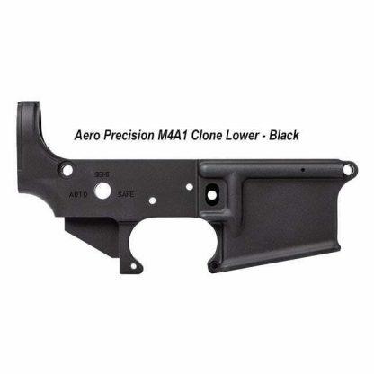 Aero Precision M4A1 Stripped Lower, Clone, Black, APAR148018C, in Stock, For Sale