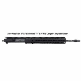 "Aero Precision M4E1 Enhanced 16"" 5.56 Mid-Length Complete Upper Receiver, Black, APPG600231P7, in Stock, For Sale"